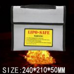 New Surface Fireproof Explosion-proof Li-po Battery Safety Protective Bag 240 210 50MM
