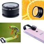 Apexel 20X Mobile Phone Camera Macro Lens for iPhone Samsung HTC Huawei with Clip