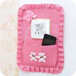Switch Sticker Decor Phone Charging Socket Key Pastoral Multifunctional Storage Bag Holder