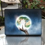 Removable 3D Effect Vinyl Decal Front Sticker Skin For Macbook Pro 13 Inch