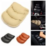 Universal PU Leather Car Armrest Mat Storage Box Cover Cushion