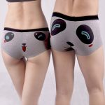 Couples Lover Cute Cartoon Panda Modal Cotton Boyshorts Character Boxers Funny Panties Underwear