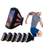 Universal Sports Arm Bag Mesh Breathable Running Armband for under 5.7 inches Smartphone