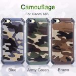 Camouflage Hybrid Hard PC Back TPU Cover Shockproof Case For Xiaomi Mi5