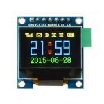 0.95 Inch 7pin Full Color 65K Color SSD1331 SPI OLED Display For Arduino