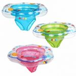 52 21Cm Baby Pool Float Toy Infant Ring Toddler Inflatable Ring Sit in Swimming Pool