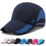 Unisex Mesh Baseball Caps Outdoor Sports Quick-Drying Hat Casual Fishing Hats