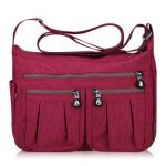 Women Nylon Lightweight Bags Casual Outdoor Waterproof Shoulder Bags Crossbody Bags
