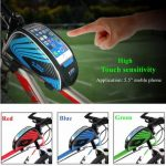 Universal Bicycle MTB Bike Cycling Frame Pannier Front Top Tube Bag Holder For Smartphone