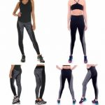 Athleisure Gym Yoga Skinny Legging Pant Fitness Push Up Body Shaping Elastic Sport Trouser