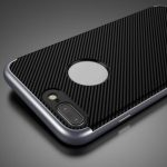 Luxury Ucase 2 In 1 TPU PC Dual Protection Carbon Fiber Shockproof Case For iPhone 7 Plus