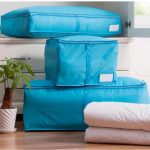 Portable Polyester Packing Luggage Clothes Quilts Folding Storage Organizer Bags Tidy Underwears Socks Room