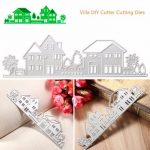 Metal DIY House Cutting Dies Stencil Scrapbook Card Album Paper Embossing Craft Decoration