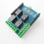 5V 4 Channel Relay Module Shield For Arduino