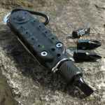 EDC Multi-functional Climbing Carabiner Paracord Buckle Screwdriver Flashlight Wrench Tool