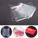 100Pcs A4 Clear Cellophane Display Bags Self Adhesive Sealing Plastic OPP