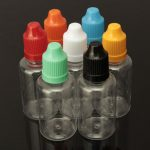 30ml PET Empty Capping Liquid Tip Cap Drop Bottle In 7 Colors