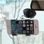 Universal Rotating 360 Car Windshield Suction Mount Holder Stand For iPhone 6