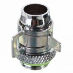 5pcs Barb Fitting Water Cooling Radiator For 3/8 Inch ID G1/4 Chromed