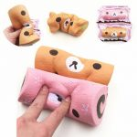 Squishyfun Swiss Roll Kawaii Bear Sponge Cake Toy Super Slow Rising 15cm With Original Packaging
