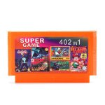 402 in 1 8 Bit Game Cartridge Air Wolf Jungle Book for NES Nintendo FC