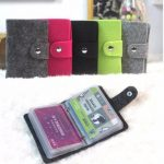 Vintage Women Men Pouch ID Credit Card Wallet Cash Holder Organizer Box Pocket Cover Case