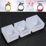 Clear Ring Mould Mold Women Ring DIY Jewelry Tools Design
