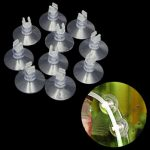 10pcs Aquarium Fish Tank Sucker Suction Cup 4mm Pipe Hose Tube Holder