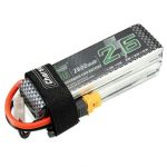 Charsoon 14.8V 2600mAh 4S 60C Lipo Battery XT60 Plug with Strap
