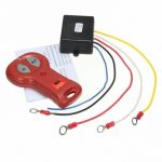 DC 12-24V 433MHz Winch In Out Wireless Remote Control Switch Kit for Jeep ATV SUV Truck Offroad