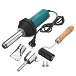 1080W Plastic Hot Air Welding Welder Heat Hot Gas Tools Kit with Rod Roll
