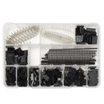 Geekcreit 1450pcs 2.54mm Male Female Dupont Wire Jumper With Pin Header Connector Housing Kit