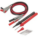 P1300A 10 in 1 Super Multimeter Probe Replaceable Probe Clamp Multi Meter Test Lead kits 4mm Banana Plug Test Line Cable