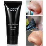 KOOGIS Blackhead Removal Mask Nose Face Facial Black Mud Clean Pore Peel Off Skin Care