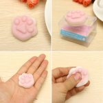 Cat Claw Squishy Squeeze Cute Healing Toy Kawaii Collection Stress Reliever Gift Decor