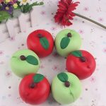5CM Apple Kawaii Squishy Fruit Fun Toys Soft Gift Cafe Decoration