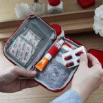 Travel Portable First Aid Emergency Medicine Bag Outdoor Pill Storage Bag Survival Organizer
