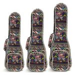 "21"" 23"" 26"" Canvas Soprano Ukulele Concert Ukulele Shoulder Back Gig Bag"