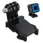 Vertical Surface J Hook Buckle Mount Adapter For Gopro Hero 4 Session Camera