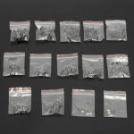 140Pcs 14 Types Momentary Tact Tactile Push Button Switch SMD Assortment Kit Set