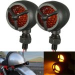 12V 11LED Aluminum Turn Signal Indicator Light Waterproof Motorcycle For Harley