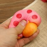 Squishy Mushroom 9cm Random Color Phone Bag Strap Pendent Decor Gift