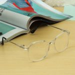 Women Transparent Eyeglass Men Frame Full Rim Spectacles Clear Lens Glasses Eyewear