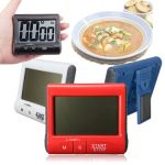 LCD Digital Magnetic Kitchen Cooking Timer Count Down Up Clock Loud Alarm