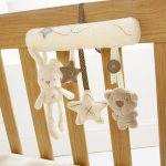 Baby Kids Hanging Bed Stroller Rattle Soft Plush Rabbit Beer Musical Toys