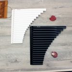 18 Tube Alto C Eco-friendly Resin Pan Flute for Beginner