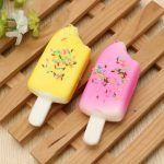 11cm Ice-lolly Popsicle Squishy Charm PU Phone Strap Decor Random Color Gift