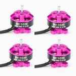 4X Racerstar Racing Edition 1103 BR1103B 8000KV 1-3S Brushless Motor Pink For 50 80 100 Mini Frame