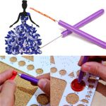 3pcs Origami Paper Quilling Tools 2 Assorted Needles and 1 Slotted Tool Decorative DIY