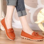 Slip On Casual Women Outdoor Round Toe Flat Loafers Shoes